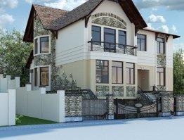 строительство домов из кирпича, загородное строительство, дом из кирпича