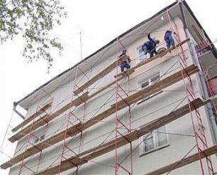 Фасадные работы, отделка фасадов, ремонт фасадов